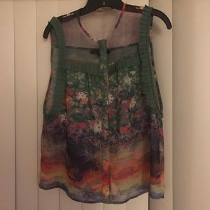 Timo Weiland Green Floral Top!